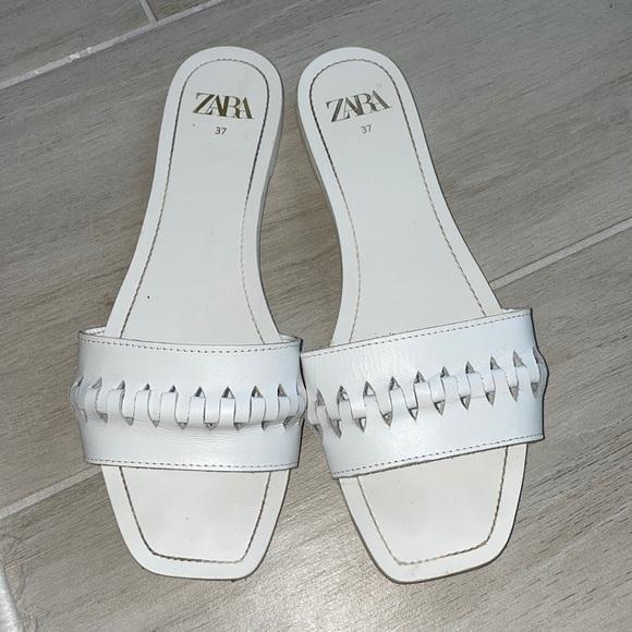 White Zara Sandal